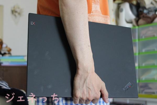ThinkPad X1 Extreme 手に持ってみました