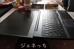 ThinkPad E595 本体水平になります